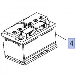 Akumulator 12V 65A 95519151 (Agila B, Astra H,J, Corsa D, Insignia A, Meriva A,B, Vivaro A,Zafira C,D)