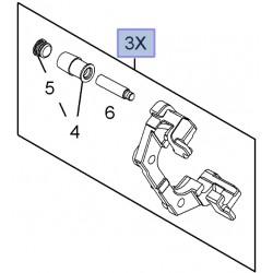 Zacisk hamulcowy tarczy tylnej 93172188 (Signum, Vectra C)