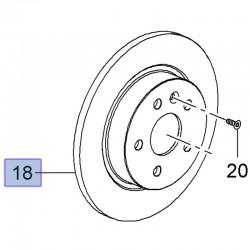 Tarcza hamulcowa tył 268mm 13502134 (Astra J)