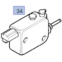 Silnik klapy wlewu paliwa 13224654 (Astra H, Corsa C, Meriva A, Tigra B)