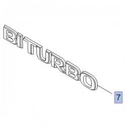 Napis BITURBO na tylne drzwi 93451383 (Vivaro B)