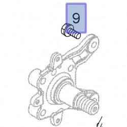 Śruba z łbem sześciokątnym M10x25 13228991 (Adam, Corsa D, E)