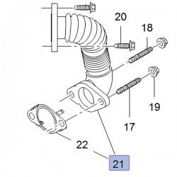Rura recyrkulacji gazów spalinowych 95517981 (Movano B, Vivaro B)