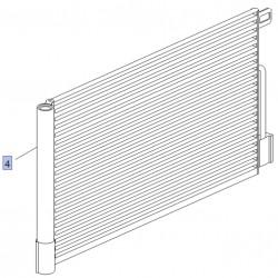 Skraplacz, chłodnica klimatyzacji 39035151 (Adam, Corsa D)