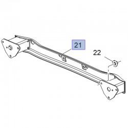 Absorber odbój zderzaka tylnego 39016273 (Astra K Hatchback 5D)