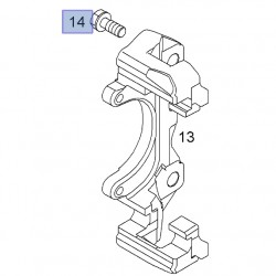 Śruba zacisku hamulcowego 9117679 (Astra G, H, Zafira B)