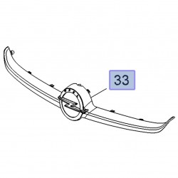 Atrapa grill chłodnicy-wypraska 13419812 (Corsa E)