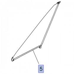 Szyba narożna lewa 12841830 (Zafira C)
