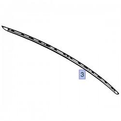 Listwa klapy bagażnika chromowana 13194635 (Meriva A)