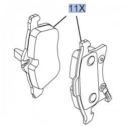 Klocki hamulcowe przednie 95514416 (Astra H, Meriva B, Zafira B)