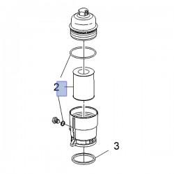 Filtr oleju diesel 2.0 93745425 (Antara)