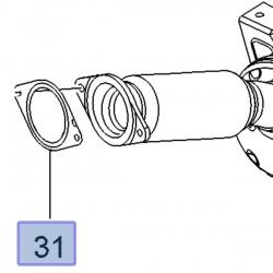 Uszczelka rury wydechowej 93863905 (Movano B, Vivaro B)
