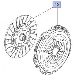 Sprzęgło 55497917 (Antara, Cascada, Insignia A, B, Zafira C)