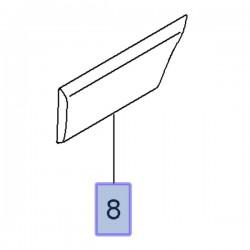 Listwa boczna 93197641 (Movano B)