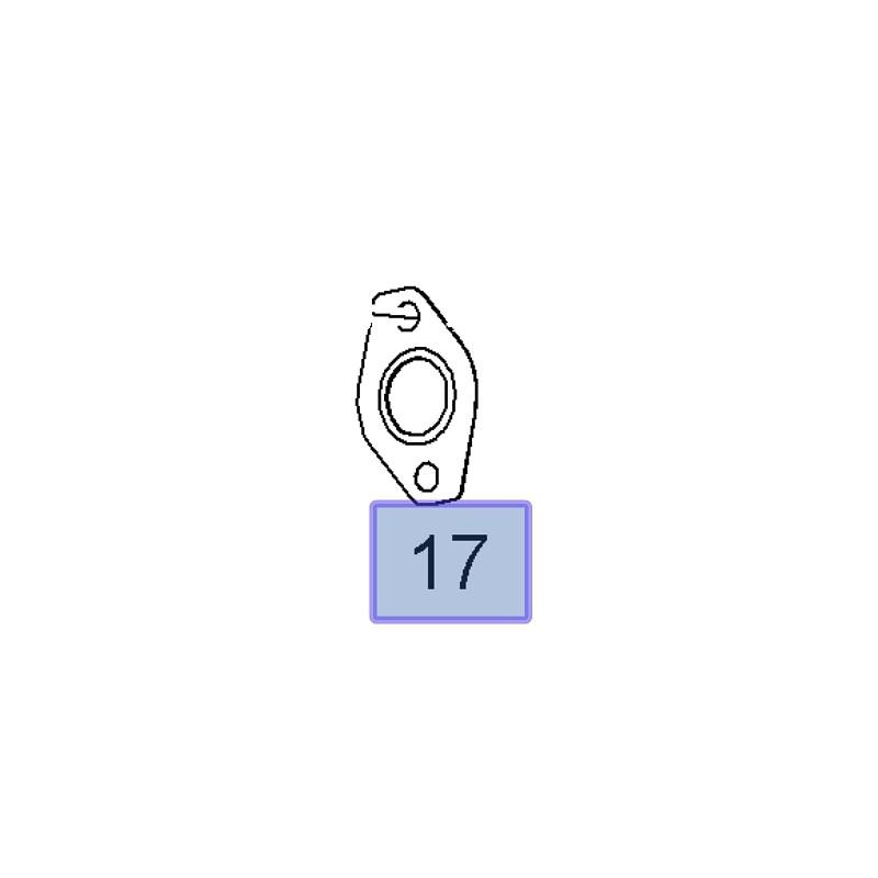 Uszczelka przewodów recyrkulacji do zaworu EGR 97362830 (Astra G, H, Corsa C, Meriva A, Zafira A)