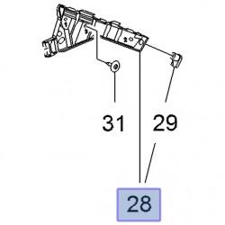 Ślizg zderzaka przedniego, prawy 22798556 (Insignia A)