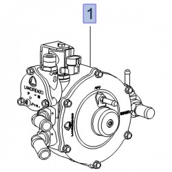 Reduktor LPG ciśnienia gazu 39125843 (Meriva B)