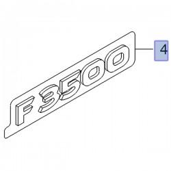Napis przednich drzwi F3500 93167513 (Movano B)