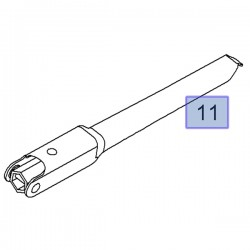 Klucz do kół 19mm 13348506 (Antara, Astra J, K, Mokka, Zafira C)