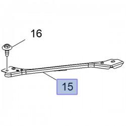 Wspornik prawy wzmocnienia czołowego 39072522 (Astra K)