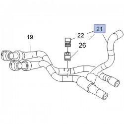 Wąż, przewód wylotu wody do nagrzewnicy 13338427 (Astra J)