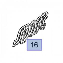 Napis na tył SPORT 9196224 (Astra H)