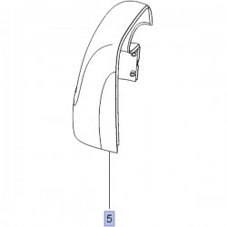 Pokrywa lusterka zewnętrznego przednich drzwi 93451847 (Vivaro B)