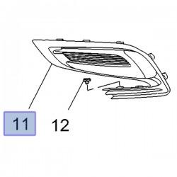 Zaślepka, kratka halogenu lewego 42491763 (Mokka)