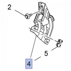 Wspornik przedniego lewego błotnika 95244755 (Mokka)