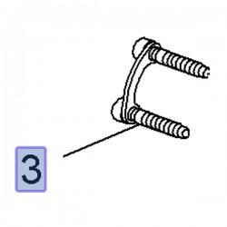 Śruba TORX mocowania wału 13324897 (Insignia A)