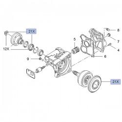 Zestaw uszczelek mechanizmu różnicowego 13334079 (Insignia A)