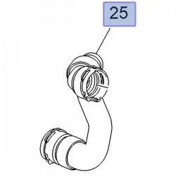 Waż chłodnicy wody wylotowy 13251435 (Astra J, Cascada, Zafira C)