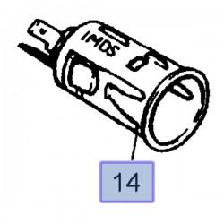 Gniazdo zapalniczki 90461170 (Astra F, G, H, Corsa A, B, C, D, Meriva A, Omega A, B, Signum, Tigra B, Vectra A, B, C, Zafira B)
