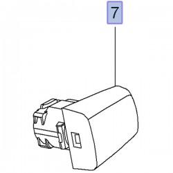 Przesłona klamki, prawa 92233091 (Ampera, Astra J, Cascada, Insignia A, Meriva B, Mokka, Zafira C)