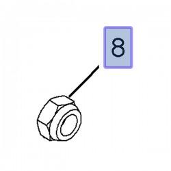 Nakrętka sześciokątna M20 piasty koła tylnego 9156693 (Corsa C, Tigra B)