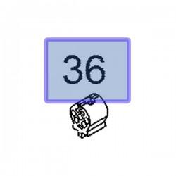 Odbój chłodnicy wody 55702167 (Adam, Astra J, Cascada, Corsa D, E, Insignia A, Meriva B, Zafira C)