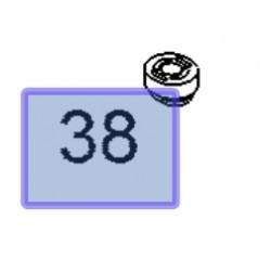 Odbój chłodnicy wody 13244515 (Astra J, Corsa D, E, Insignia A i inne)