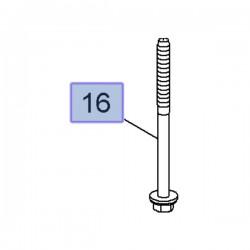 Śruba przekładni kierowniczej 13317308 (Ampera, Astra J, Cascada, Insignia A, Zafira C)