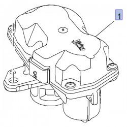 Zawór EGR recyrkulacji gazów 95527051 (Vivaro B)