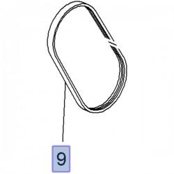 Pasek klinowy pompy wspomagania 55564676 (Astra J, Insignia A, Mokka)