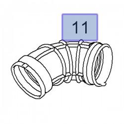 Kolano filtra powietrza 90530766 (Astra G, H)