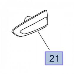 Kierunkowskaz przedni lewy 13491088 (Astra J, K, Crossland X, Grandland X, Insignia B, Zafira C)