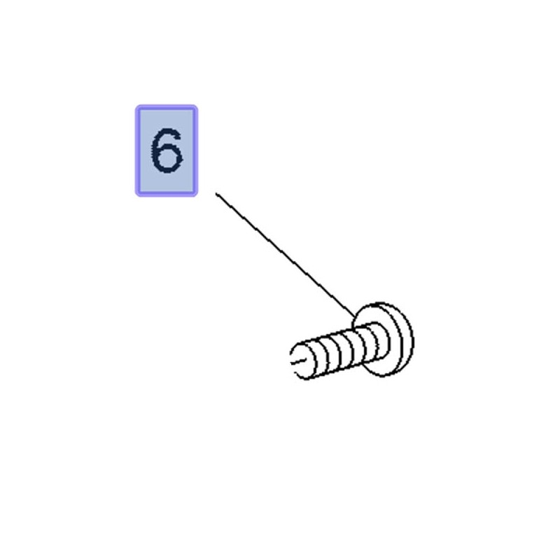 Śruba lusterka drzwi 3643712 (Combo E, Grandland X)