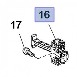 Ogranicznik drzwi przednich 3549581 (Combo E)