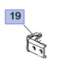 Zawias przednich lewych drzwi 3549623 (Combo E)