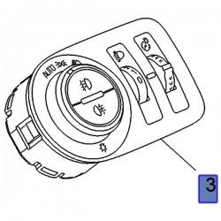 Przełącznik, włącznik świateł 95525603 (Combo E)