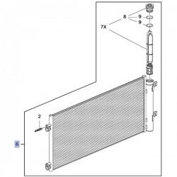 Chłodnica klimatyzacji 1.4L 39131676 (Astra K)