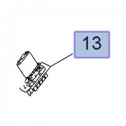 Rezystor opornik dmuchawy 13480494 (Adam, Corsa D, E)