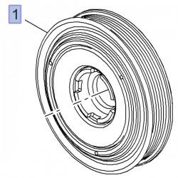 Koło pasowe wału korbowego 25182193 (Antara)