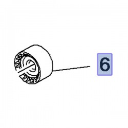 Rolka paska rozrządu 55505280 (Antara, Cascada, Insignia A, B, Zafira C)